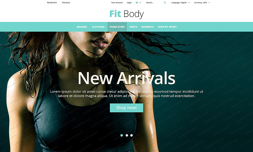 Fit Body Theme magento