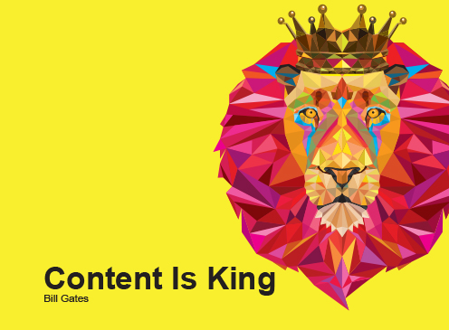 poly lion content king