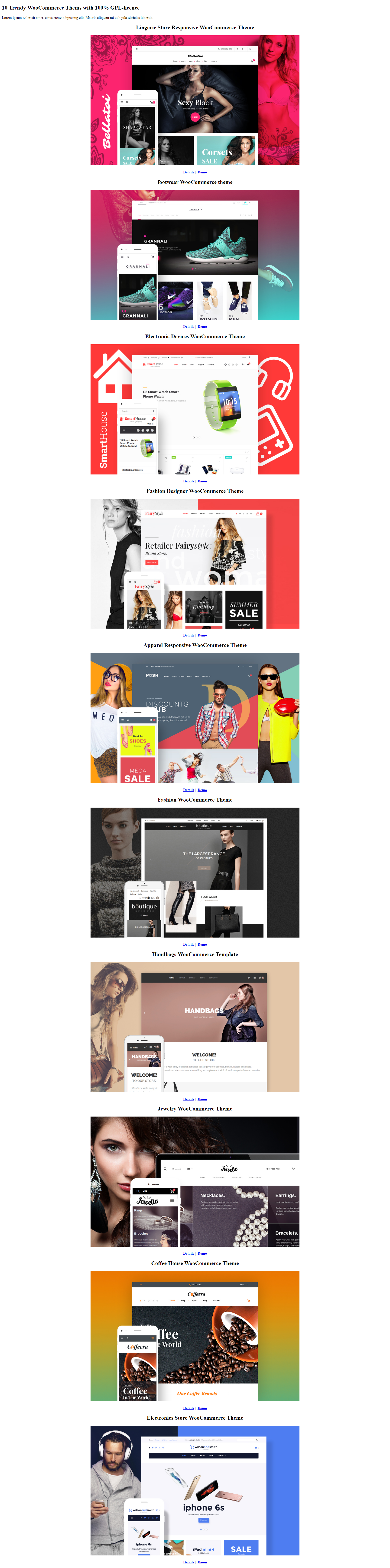 10-Trendy-WooCommerce-Thems-with-100%-GPL-licence