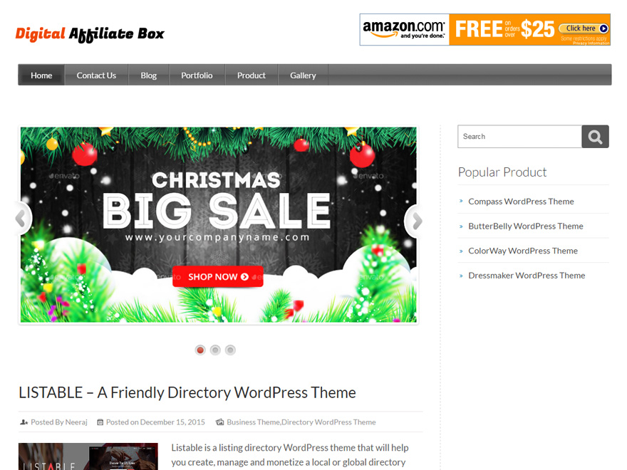 WordPress Themes for Affiliate Marketing and Blogs Websites ...