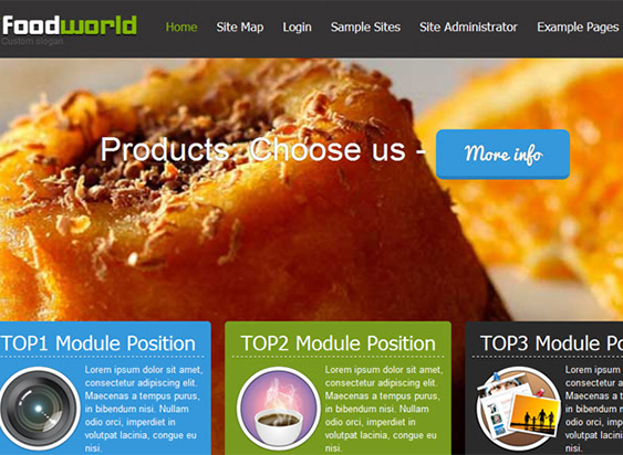 Joomla-30-Template-FoodWorld