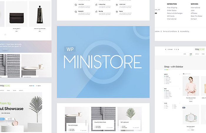Ministore - Fashion WooCommerce Theme