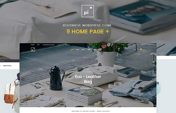 Pi - Multipurpose WooCommerce Theme