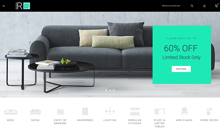 Reflego - Furniture and Home Decor Magento 2 Theme