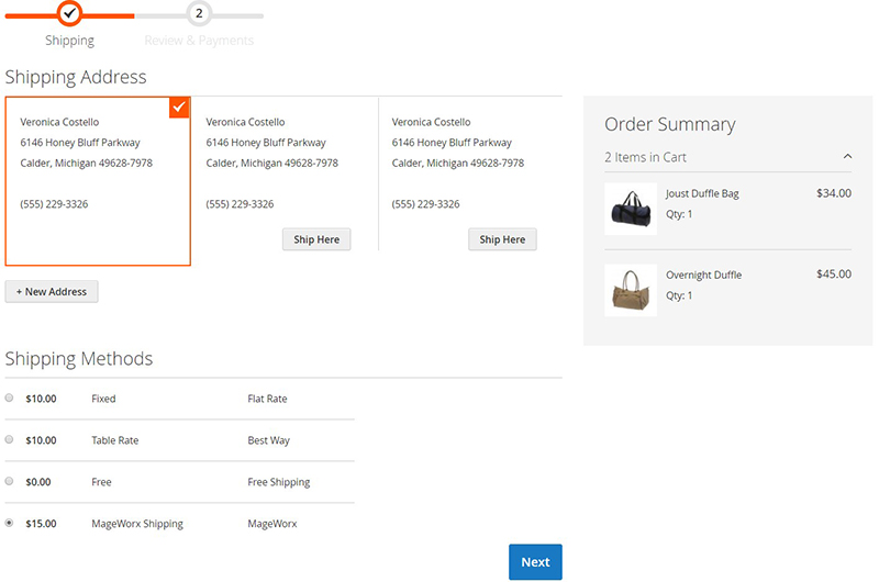 Magento 2 Extensions for Improved Shipping