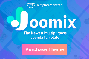 Joomix Joomla Multipurpose Template