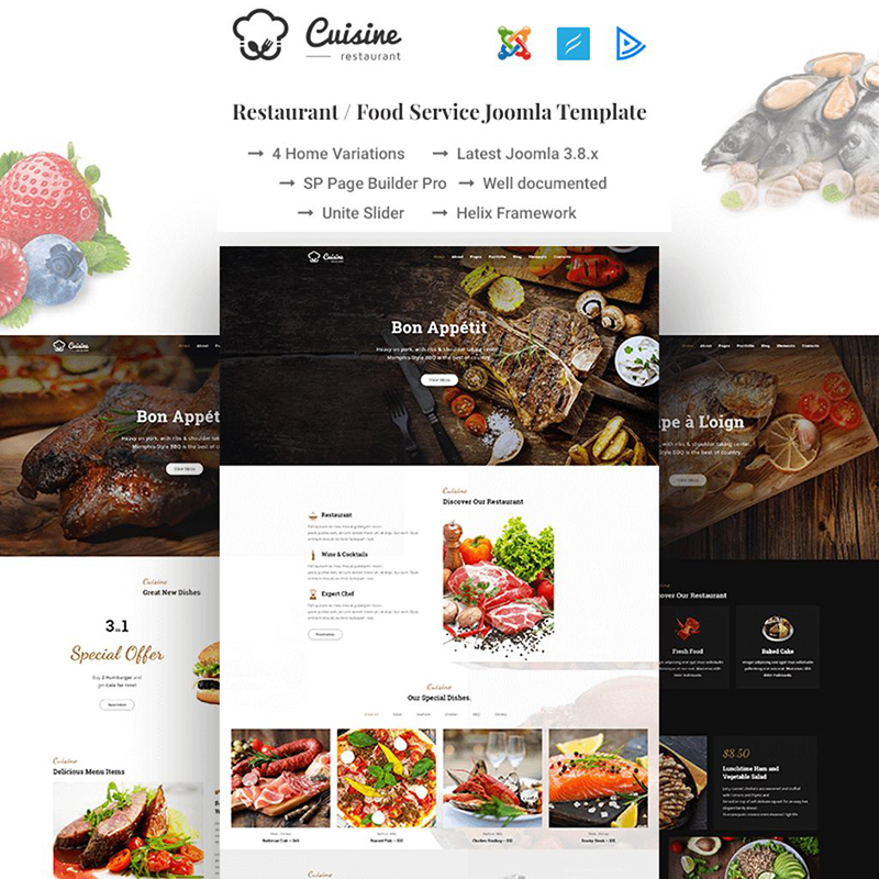 5+ Joomla Restaurant Templates For Your Business