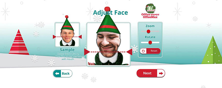 Elf Yourself from Office Depot
