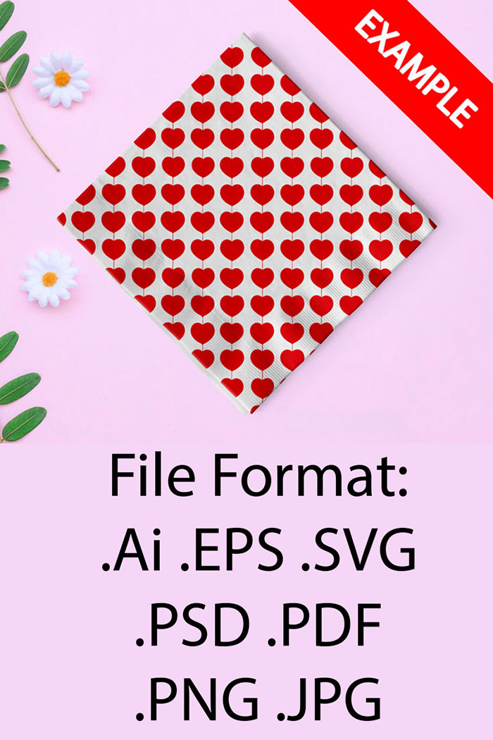 Saint Valentine's Day Pattern